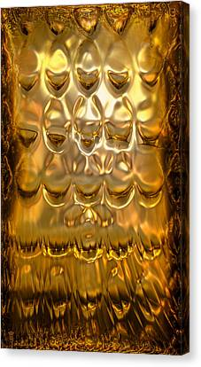 Goldpanel 02 Canvas Print by Li   van Saathoff