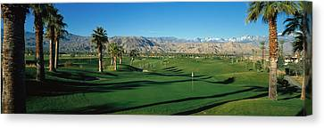 Golf Course, Desert Springs Canvas Print by Panoramic Images