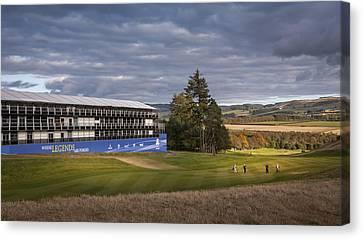 Golf Course Photography Canvas Print