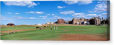 Golf Course, St Andrews, Scotland Canvas Print by Panoramic Images