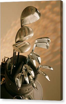 Golf Equipments Canvas Print by Lanjee Chee