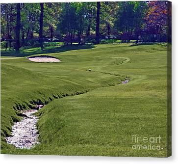 Golf Hazards Canvas Print
