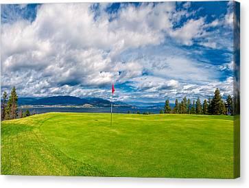 Golf Tee  Canvas Print