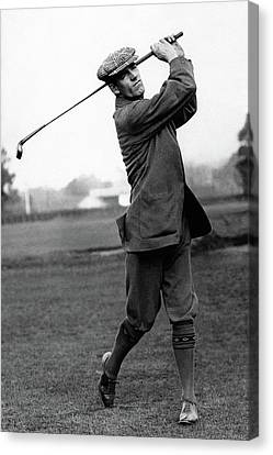 Golfer George Duncan Canvas Print