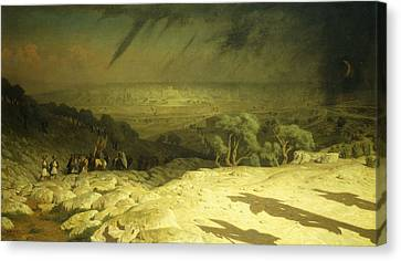 Golgotha Canvas Print by Jean Leon Gerome