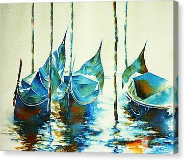Gondeln 7 Canvas Print by Thomas Habermann