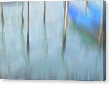 Gondola Poles Canvas Print by Marion Galt