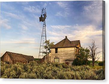 Gone But Not Forgotten Canvas Print by Mark Kiver