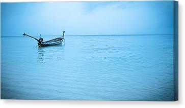 Gone Fishing Canvas Print by Shari Mattox