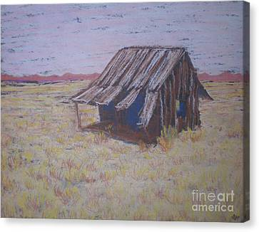Canvas Print featuring the painting Gone North by Suzanne McKay