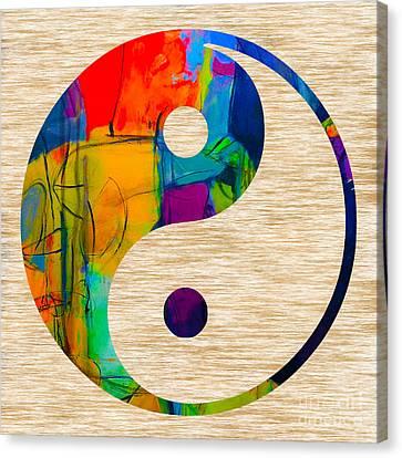 Good Balance Canvas Print by Marvin Blaine