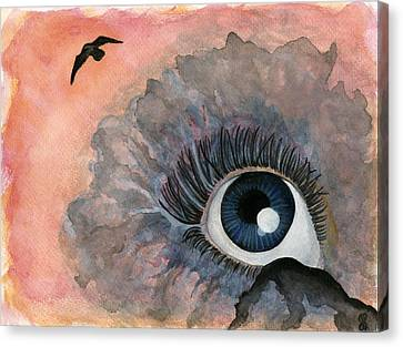 Good-bye Canvas Print by Jamie Seul