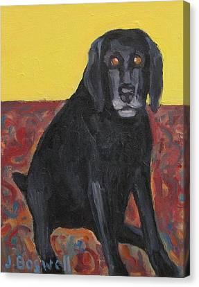 Good Dog Series 2 Canvas Print by Jennifer Boswell