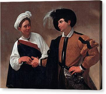 Good Luck Canvas Print by Caravaggio