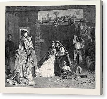 Good Luck, In The International Exhibition 1871 Canvas Print