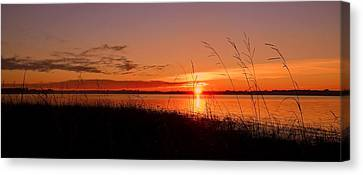 Canvas Print featuring the photograph Good Morning ... by Juergen Weiss