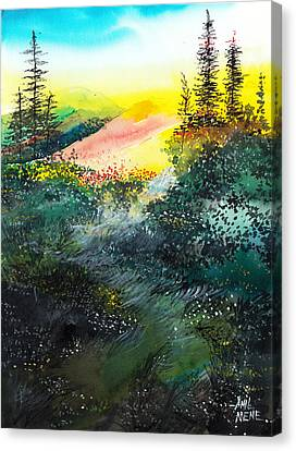 Good Morning 3 Canvas Print by Anil Nene