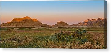 Canvas Print featuring the photograph Good Morning Badlands II by Patti Deters