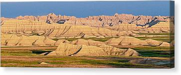 Canvas Print featuring the photograph Good Morning Badlands I by Patti Deters