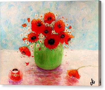 Good Morning.. Canvas Print by Cristina Mihailescu