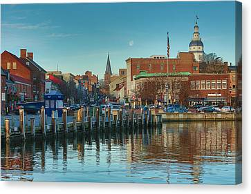 Good Morning Downtown Canvas Print by Jennifer Casey