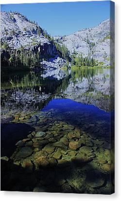 Good Morning Eagle Lake Canvas Print by Sean Sarsfield