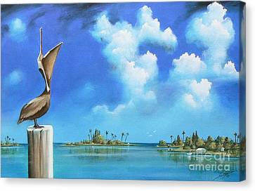 Good Morning Florida Canvas Print by S G