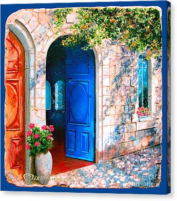 Good Morning Jerusalem Canvas Print