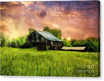 Good Morning Kentucky Canvas Print by Darren Fisher