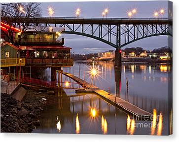 Good Morning Knoxville Canvas Print by Douglas Stucky