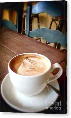 Good Morning Latte Canvas Print
