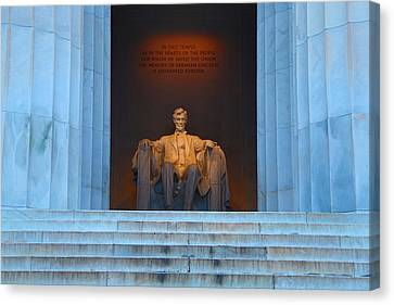 Good Morning Mr. Lincoln Canvas Print