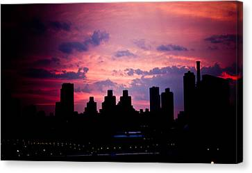 Good Morning New York Canvas Print by Sara Frank