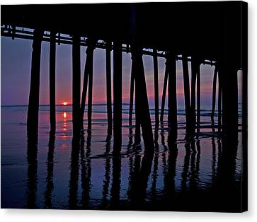 Good Morning Old Orchard Silhouette   Canvas Print by Betsy Knapp