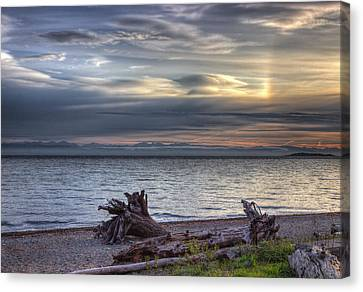 San Pareil Sunrise Canvas Print by Randy Hall