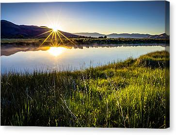 Good Morning Canvas Print by Scott McGuire