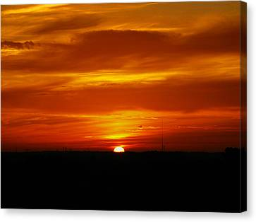 Good Morning Sunshine Canvas Print by Oscar Alvarez Jr