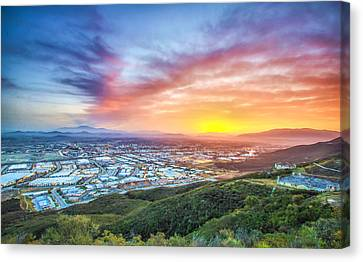 Good Morning Temecula Canvas Print