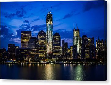Good Night, New York Canvas Print