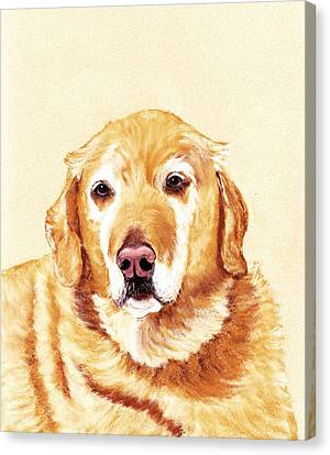 Good Old Friend Canvas Print by Anastasiya Malakhova