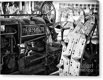 Good Old Tractor Canvas Print by Thanh Tran