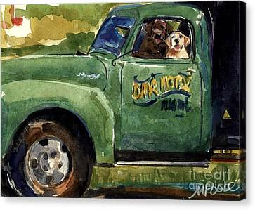 Good Ole Boys Canvas Print by Molly Poole