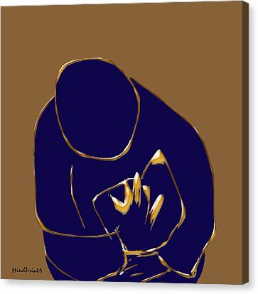 Good Read Canvas Print by Asok Mukhopadhyay