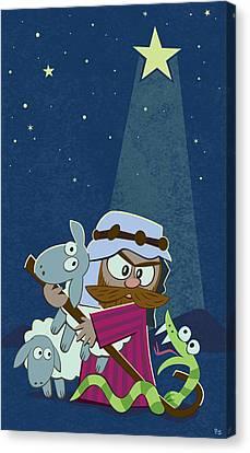 Jerusalem Canvas Print - Good Shepherd by Parker  Jacobs
