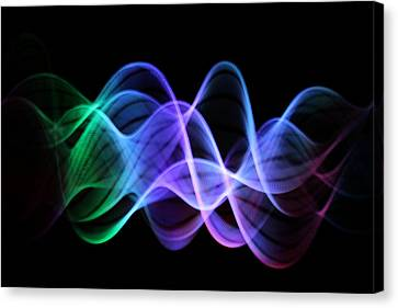 Good Vibrations Canvas Print by Dazzle Zazz