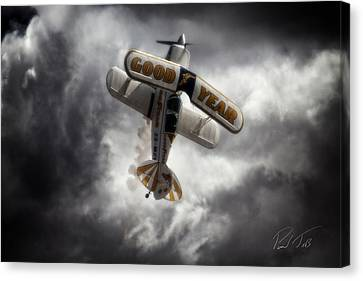 Canvas Print featuring the photograph Good Year Cloud by Paul Job