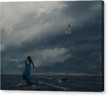 Goodbye Esmeralda Canvas Print by Hazel Billingsley