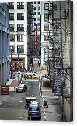 Goodman Chicago Canvas Print by Scott Norris