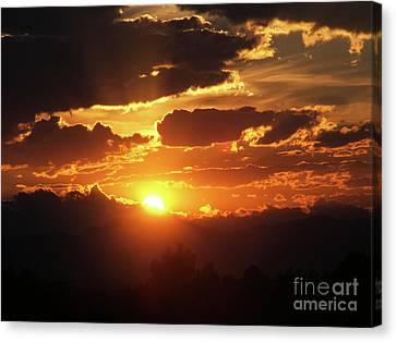 Goodnight Denver Canvas Print