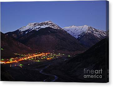 Goodnight Silverton Canvas Print